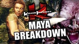 MAYA & (not a)MUMMY BREAKDOWN: Killer Instinct Season 2