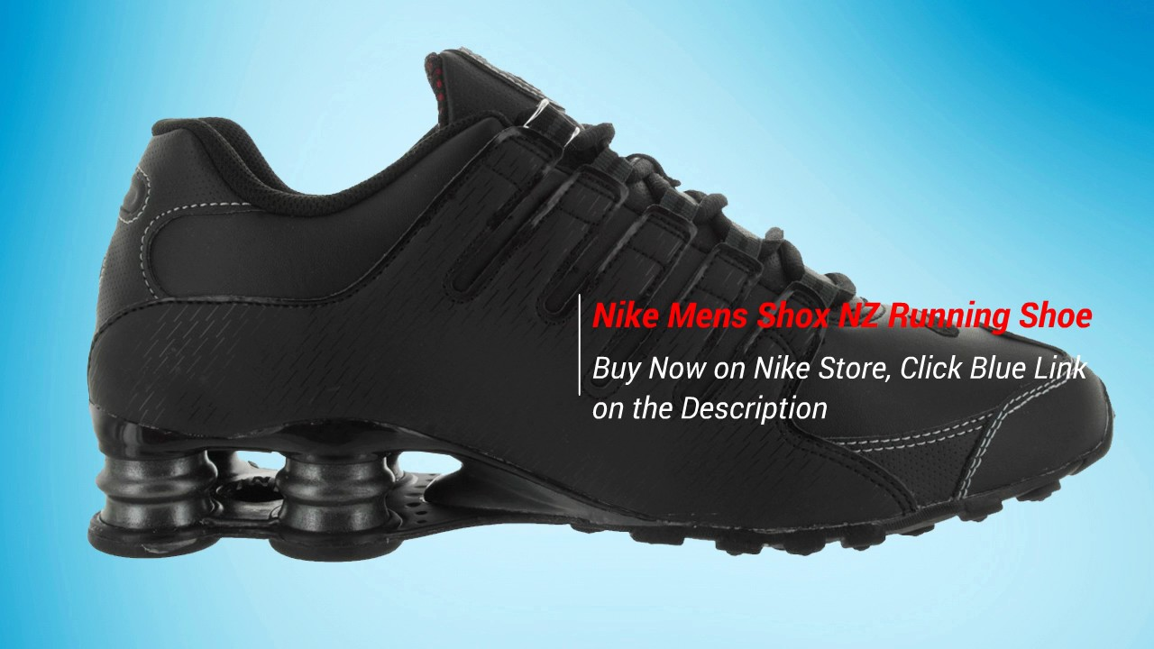 huge discount 75d36 3ec64 Nike Mens Shox NZ Leather Trainers