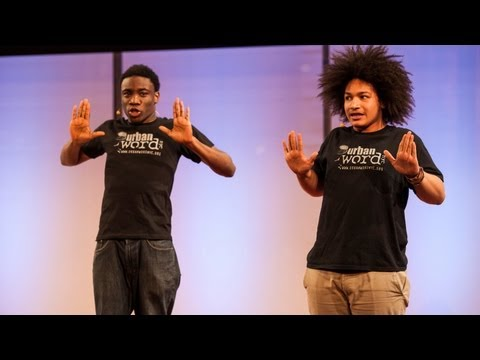 Video image: Beach Bodies (in spoken word) - David Fasanya and Gabriel Barralaga
