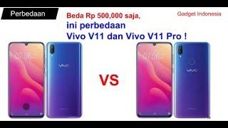 Beda harga Rp 500 Ribu   ini Perbedaan Vivo V11 dan Vivo V11 Pro Lengkap