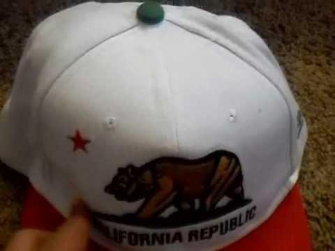 California Republic Snapback - Cheap & Great Quality -