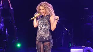 """She Wolf"" Shakira@Capital One Arena Washington DC 8/11/18"
