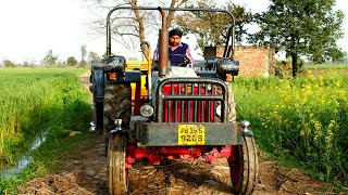 Pakistan Village Life   Tractor In The Fields Of Punjab