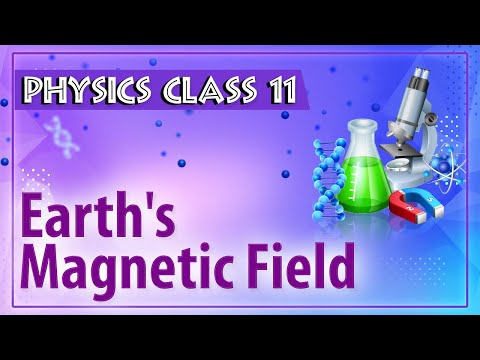 Earth's Magnetic Field - Magnetism - Physics Class 11 - HSC - CBSE - IIT JEE