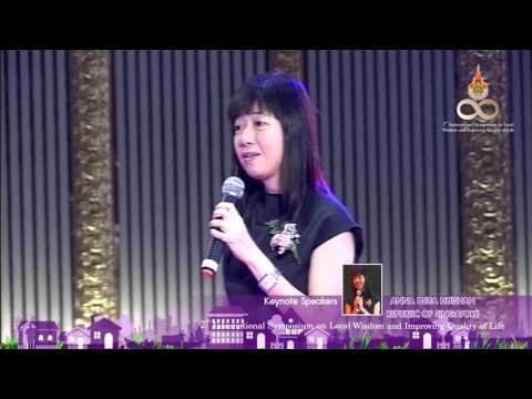 ANNA PHUA HUISHAN Keynote Speaker Form Republic of Singapore