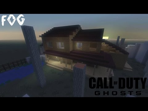 Fog - Call Of Duty: Ghost | Minecraft PS4 PS3 PSVITA Map Remake + Download Link