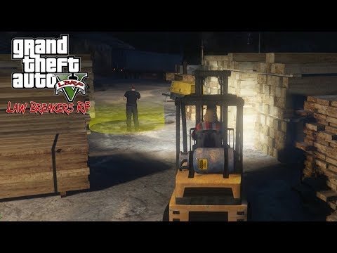 GTA 5 Roleplay - LBRP 98 - (CO-OP) Wood Cutting Job With RiskyClay