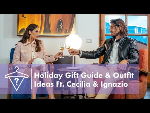 Holiday Gift Guide and Outfit Ideas with Cecilia and Ignazio | #StyledByGUESS