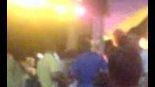 connor boylan dancing majorca  in the light yellow top