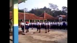 FLAG CEREMONY SMPN 1 CANGKUANG