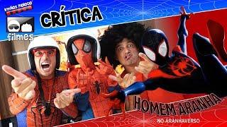 🎬 Homem-Aranha no Aranhaverso 🕷 - Crítica Irmãos Piologo Filmes