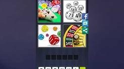4 Bilder 1 Wort Lösung [Karten, Kugeln, Würfeln, Roulette]