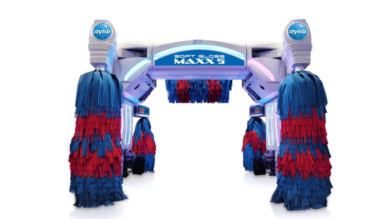 Car Wash Brush >> SoftGloss Maxx 5 Brush with New LED Lights - YouTube