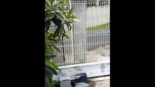 Essaie Automatisme solaire pour portail coulissant