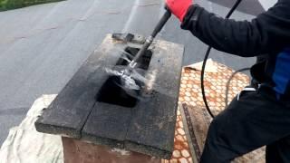 Czyszczenie mechaniczne komina