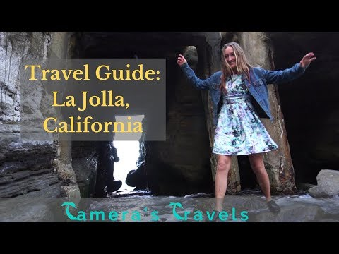 WOW air travel guide application -  La Jolla, San Diego California!