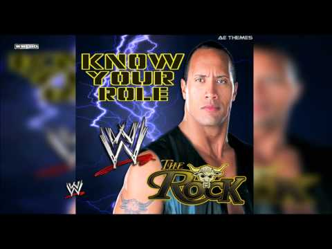 """WWE: """"Know Your Role"""" (The Rock) Theme Song + AE (Arena Effect)"""