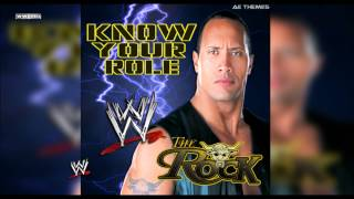 "WWE: ""Know Your Role"" (The Rock) Theme Song + AE (Arena Effect)"