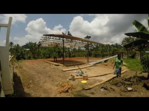 Tabernacle Construction in Kekem, Cameroon