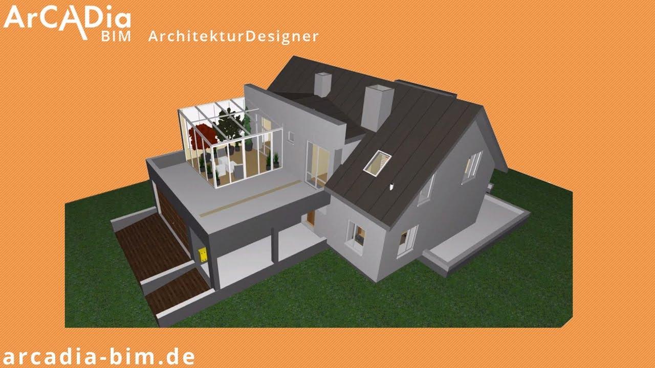 Hausplanung Hauskonstruktion Bauplanung Am Pc Mit 3d