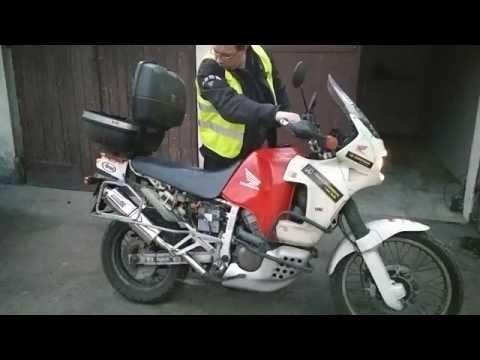 Honda XRV750 RD04 Africa Twin Dominator Exhaust