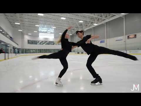 Lily Hensen & Nathan Lickers, Junior Free Dance