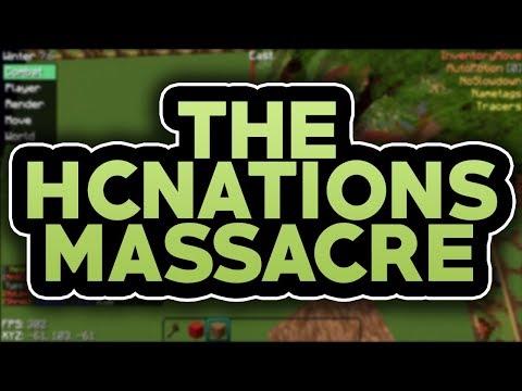 THE HCNATIONS MASSACRE (OWNER DDOS THREATS)