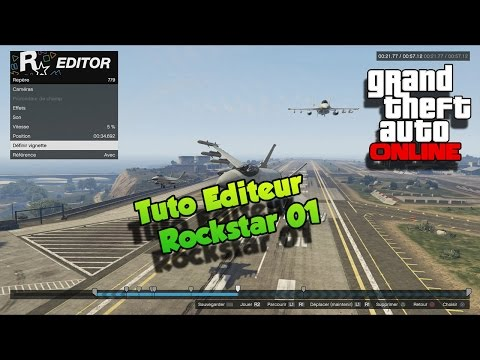 Tuto Editeur Rockstar #01 GTA 5 Online