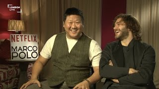 Marco Polo cast on the 'incredible world' of the Kublai Khan empire