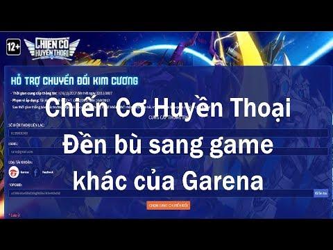 cách hack kim cương chiến cơ huyền thoại - Chiến Cơ Huyền Thoại đền bù sang game khác của Garena