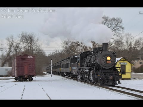 12.17.17 Sun & Steam At The Valley Railroad.