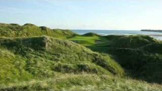 Lahinch Golf Club, Ireland Links Course - World Top 50 Golf Course by Alister MacKenzie