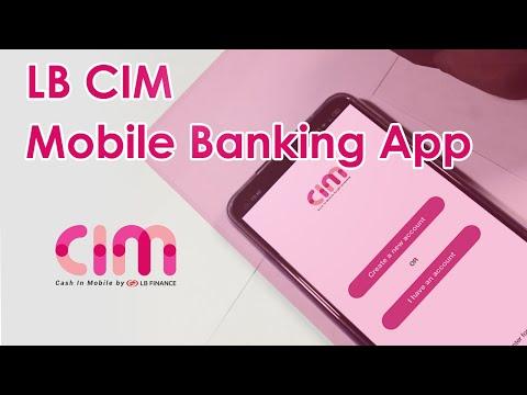 LB CIM - Cash in Mobile   LB Finance CIM Mobile Banking App