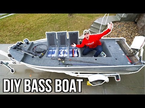 INSANE Jon Boat To Bass Boat Modification (Homemade)