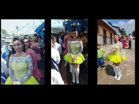 Isela Rivas Cachiporrista Live  El Salvador  fotos desfile jujutla