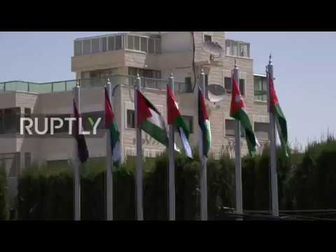 State of Palestine: Jordanian King received with military honours during rare Palestine visit