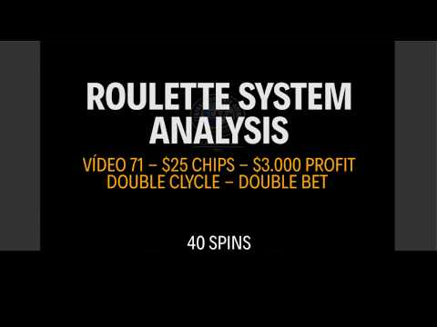 How to win $3.000 in roulette in 1 hour - $25 Chips  - Vídeo 71