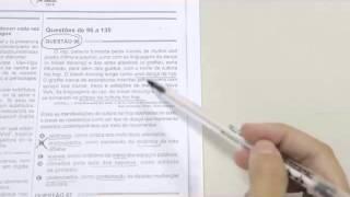 CHROMOS GABARITO ENEM 2015 - Jéssica - Português - Questão 96 -   Prova Amarela