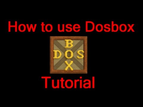 How To Use Dosbox Tutorial - Full HD 1080p