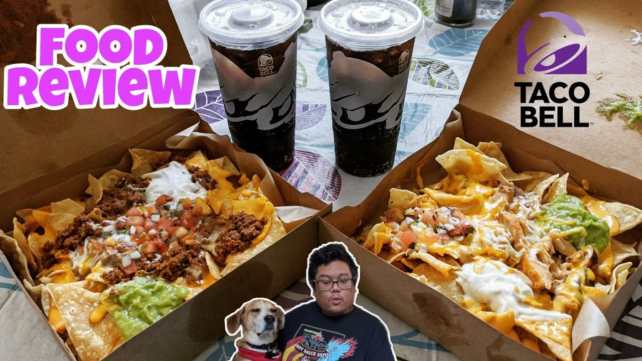 Taco Bell 10 Nachos Craving Pack Youtube