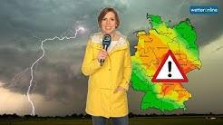 ‼ Update: Unwetter mit Starkregen am Sonntag (14.06.2020)