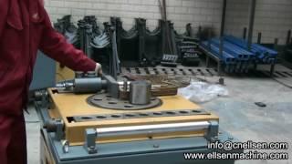 видео Станок для гибки арматуры автоматический