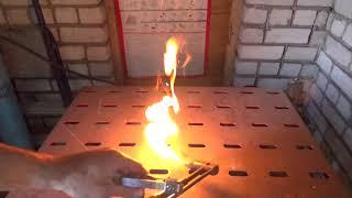 как запалить и погасить газовый резак