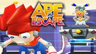 THESE MONKEYS ARE STILL SUS!! | Ape Escape 2