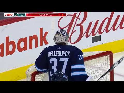 San Jose Sharks vs Winnipeg Jets - January 7, 2018 | Game Highlights | NHL 2017/18