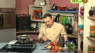 """Газовый гриль: готовим овощное рагу на """"Экогриле"""""""