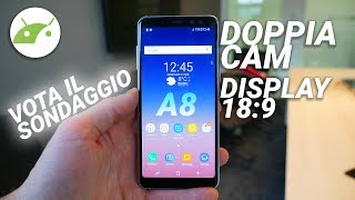 Samsung Galaxy A8 2018 PROMETTE BENE ma il prezzo...  Anteprima ITA   TuttoAndroid