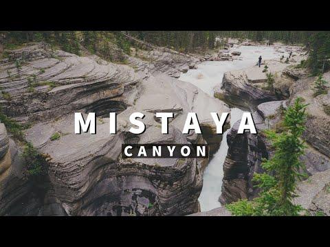 Mistaya Canyon Banff
