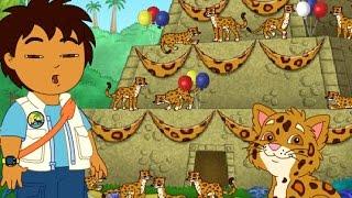 Диего спасатель животных -  День рождения ягуара. Diego's Great Jjaguar Rescue