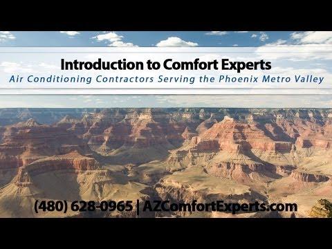 Comfort Experts | AC Contractors Serving the Phoenix Metro Valley